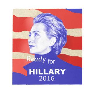 Hillary Clinton 2016 Notepad