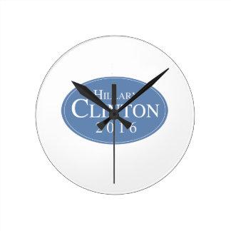 HILLARY CLINTON 2016 OVALESQUE - .PNG RELOJ
