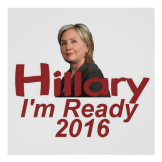 Hillary Clinton 2016 Impresiones