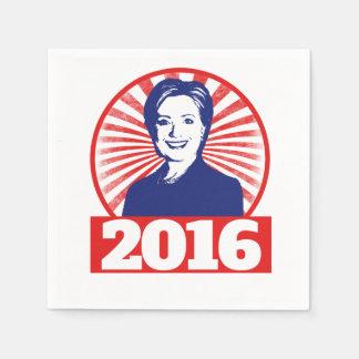 Hillary Clinton 2016 Paper Napkin