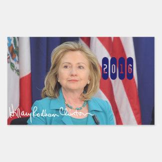 Hillary Clinton 2016 Rectangular Altavoces