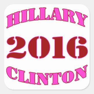 Hillary Clinton 2016 Colcomanias Cuadradases