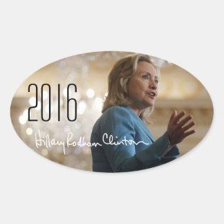 Hillary Clinton 2016 Colcomanias De Óval