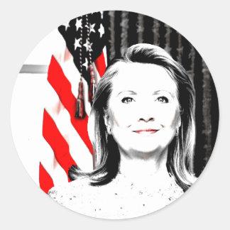 Hillary Clinton 2016 Pegatinas Redondas