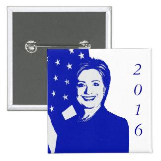 Hillary Clinton 2016 Pins