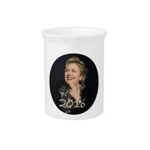 Hillary Clinton 2016 Pitcher