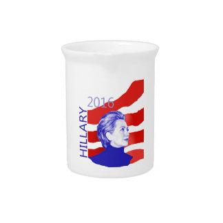 Hillary Clinton 2016 Beverage Pitchers