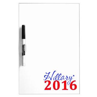 Hillary Clinton 2016 Pizarras Blancas De Calidad