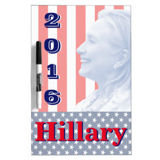 Hillary Clinton 2016 Tablero Blanco