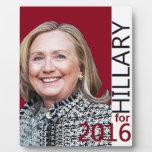 Hillary Clinton 2016 Plaque