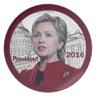 Hillary Clinton 2016 Plate