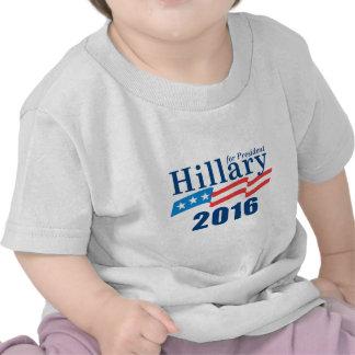 Hillary Clinton 2016 Camisetas