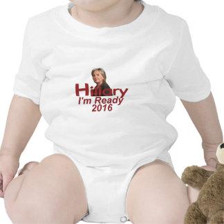 Hillary Clinton 2016 Traje De Bebé