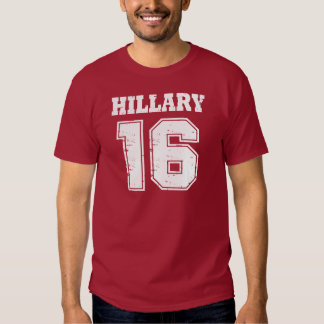 Hillary Clinton 2016 Playeras
