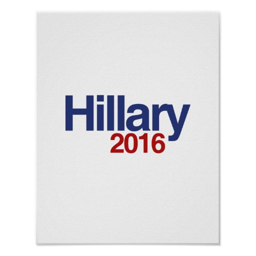 HILLARY CLINTON 2016.png Poster