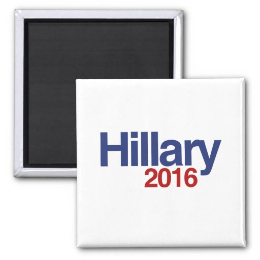 HILLARY CLINTON 2016.png Refrigerator Magnets