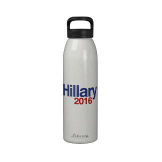 HILLARY CLINTON 2016.png Drinking Bottle