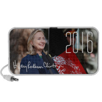 Hillary Clinton 2016 Portable Speakers