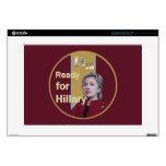 Hillary Clinton 2016 Portátil Skin
