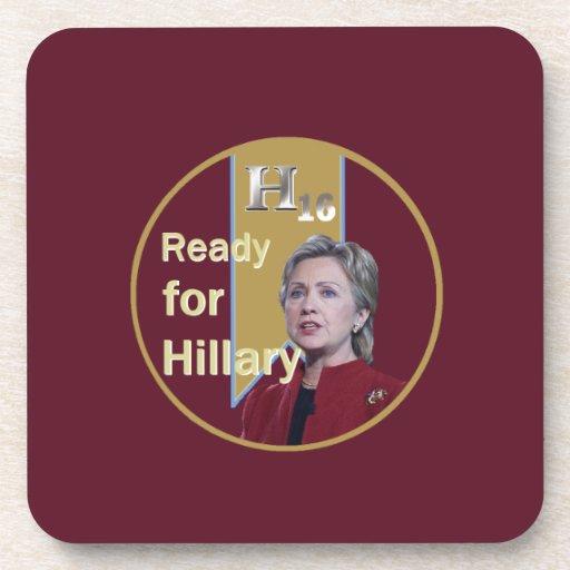 Hillary Clinton 2016 Posavasos
