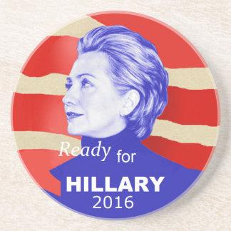 Hillary Clinton 2016 Posavasos Diseño