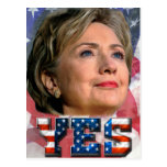 Hillary Clinton 2016 Postal