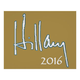Hillary Clinton 2016 Posters