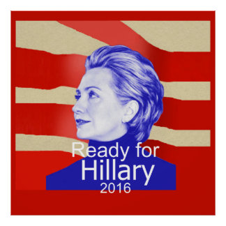 Hillary Clinton 2016 Poster