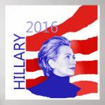 Hillary Clinton 2016 Póster