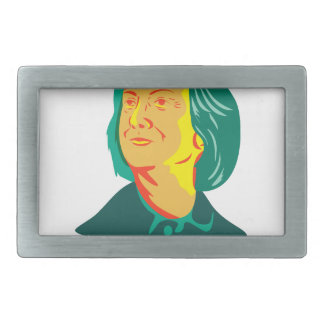 Hillary Clinton 2016 President Democrat Retro Rectangular Belt Buckle