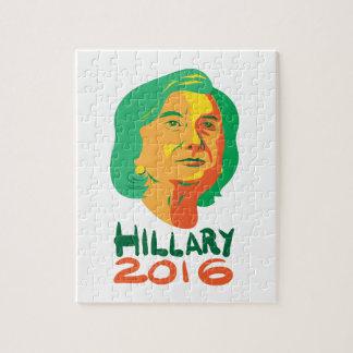 Hillary Clinton 2016 President Jigsaw Puzzle