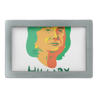 Hillary Clinton 2016 President Rectangular Belt Buckle