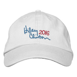 Hillary Clinton 2016 Presidential Campaign Embroidered Baseball Caps