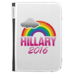 HILLARY CLINTON 2016 PRIDE -.png Kindle 3 Case