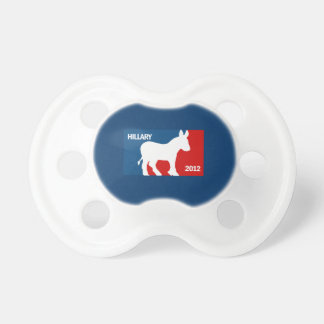 HILLARY CLINTON 2016 PRO BABY PACIFIERS