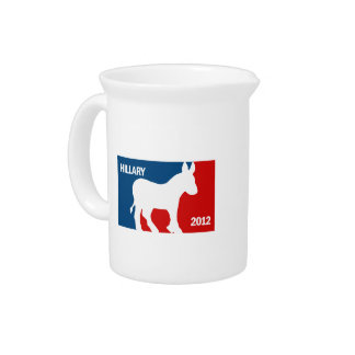 HILLARY CLINTON 2016 PRO DRINK PITCHERS