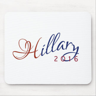 Hillary Clinton 2016 Red and Blue Logo Mouse Pad
