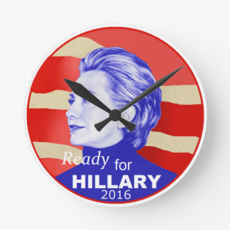 Hillary Clinton 2016 Reloj De Pared