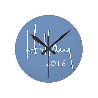 Hillary Clinton 2016 Relojes De Pared