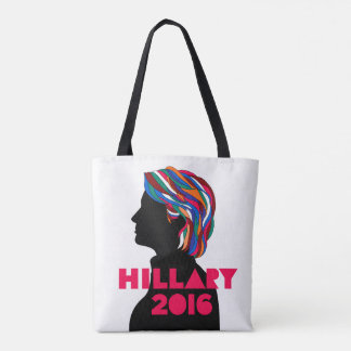 Hillary Clinton 2016 Reusable Tote Bag