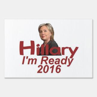 Hillary Clinton 2016 Señal