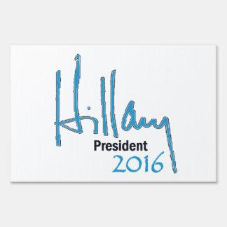 Hillary Clinton 2016 Señales