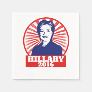 Hillary Clinton 2016 Servilleta Desechable