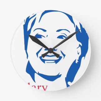 Hillary Clinton 2016 Shirt   HIllary for President Round Clocks