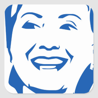Hillary Clinton 2016 Shirt | HIllary for President Square Sticker