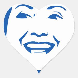 Hillary Clinton 2016 Shirt | HIllary for President Heart Sticker