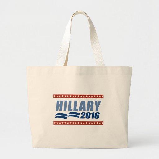HILLARY CLINTON 2016 SIGNAGE.png Jumbo Tote Bag