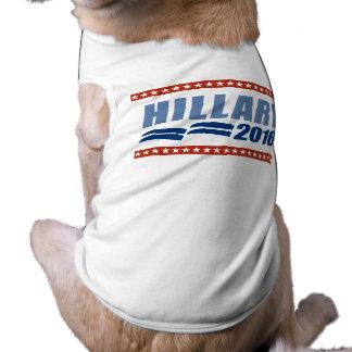 HILLARY CLINTON 2016 SIGNAGE.png Camisetas De Mascota