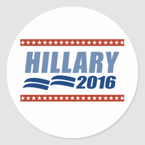 HILLARY CLINTON 2016 SIGNAGE.png Stickers