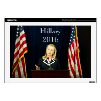 Hillary Clinton 2016 Decal For Laptop